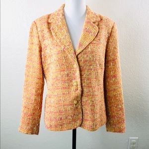 Coldwater Creek Blazer Jacket  Sz L Career Casual